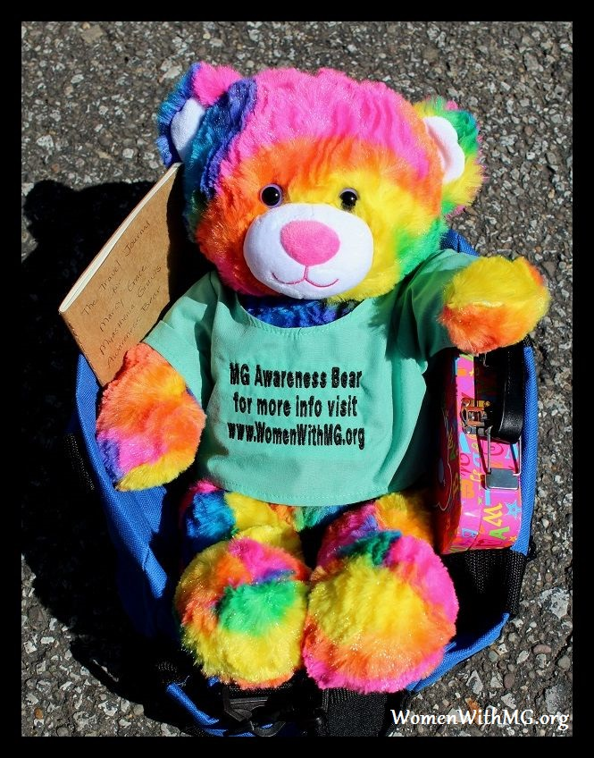 MG Awareness Bear 1